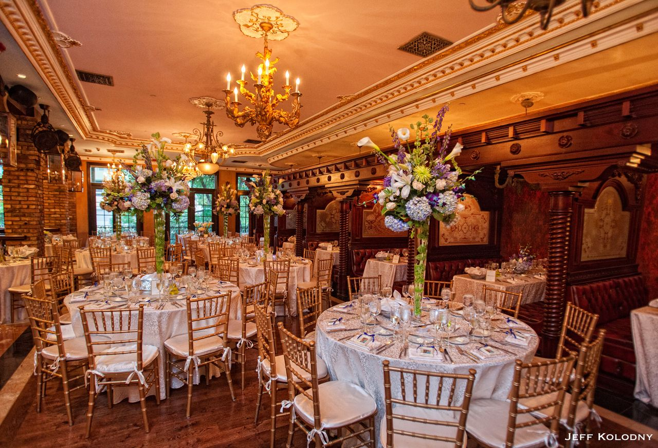 Jewish wedding reception at the Cruz Building